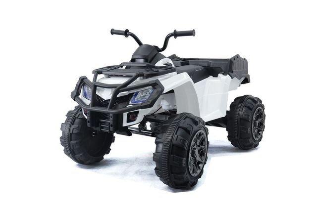 Электроквадроцикл Grizzly Next Т009МР 4WD зеленый (АКБ 12v 10ah, колеса резина, сиденье кожа, пульт, музыка)