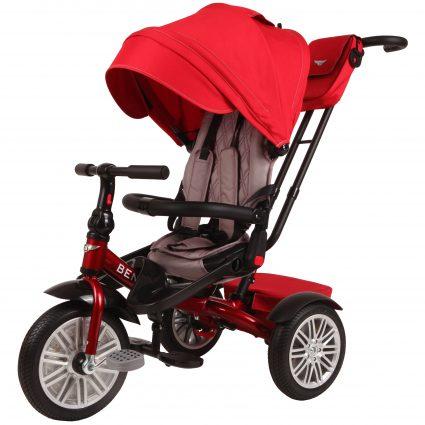 Трехколесный велосипед Bentley BN2R красный цвет (трансформер)