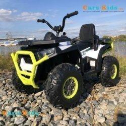Электроквадроцикл XMX607 Т007МР (задний привод, колеса резина, кресло кожа, пульт, музыка)